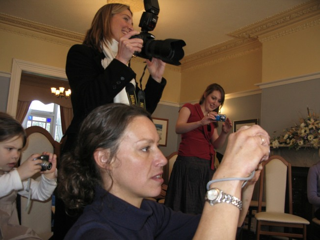 Winchurch Women Turn Paparazzi (Photo by T.R. Cross)