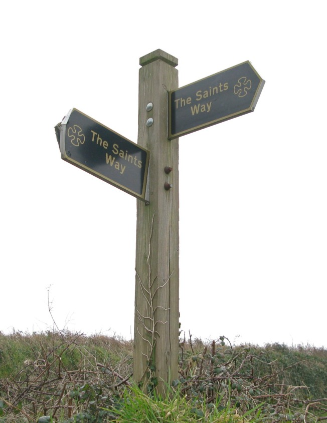 Marker For The Saint's Way