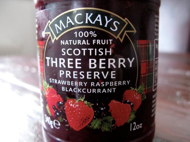 MACKAY'S Scottish Three Berry Preserve