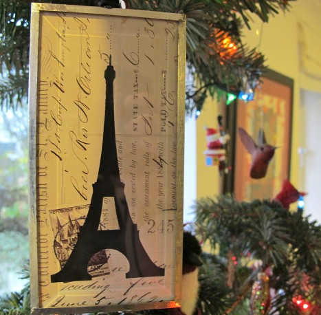 Paris Letter 1862, Christmas Tree
