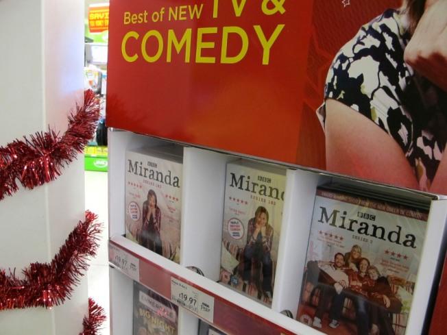 Miranda, Asda, Comedy