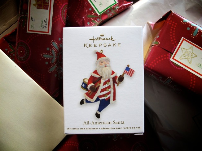 All American Themed Santa