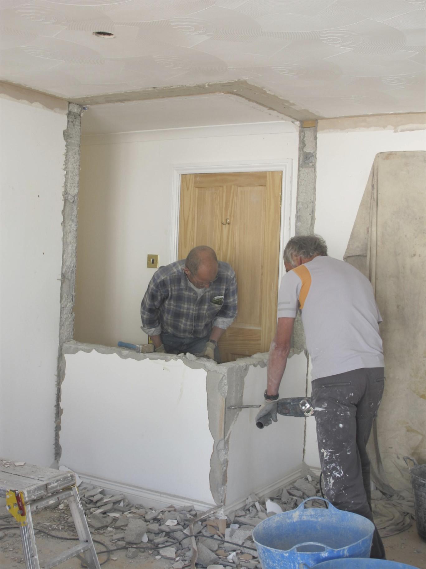 Breaking Down Walls When A Sledgehammer Won't Do