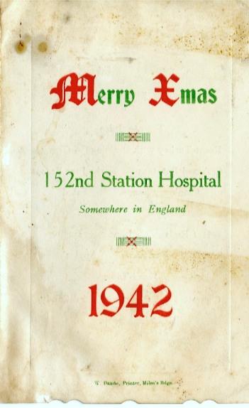 152nd Station Hospital -1942
