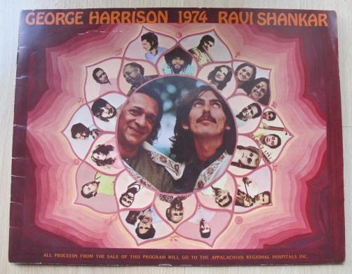 George Harrison 1974 Ravi Shankar