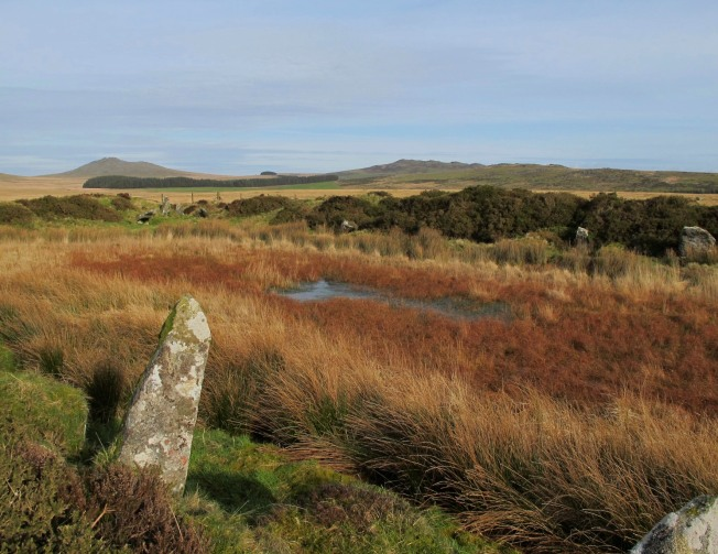 Bodmin Moor, King Arthur's Hall, Brown Willy, Rough Tor