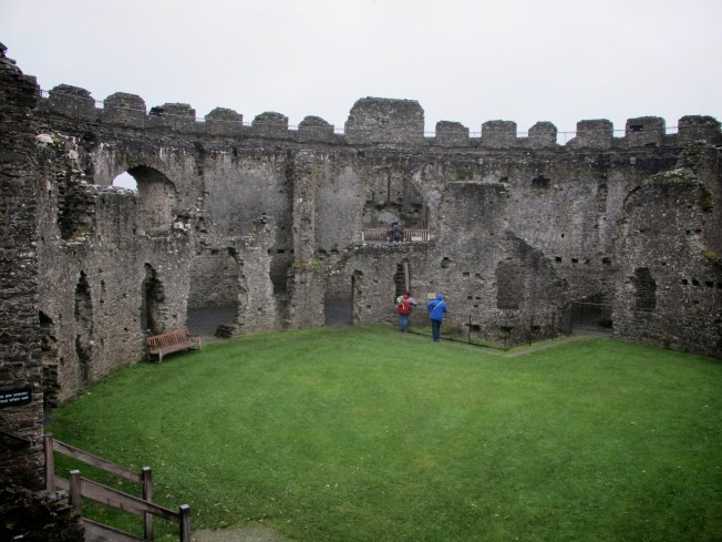 Patrice & Lisa, Restormel Castle