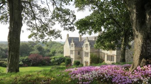 Trerice- Garden View of House - Elizabeth Harper