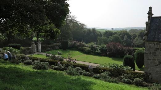Trerice Front Garden - Elizabeth Harper