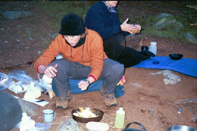 Elizabeth Harper, Outward Bound, Camp Cooking