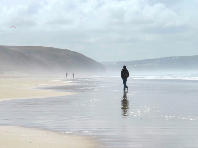 Cornish Beach - Image by Elizabeth Harper