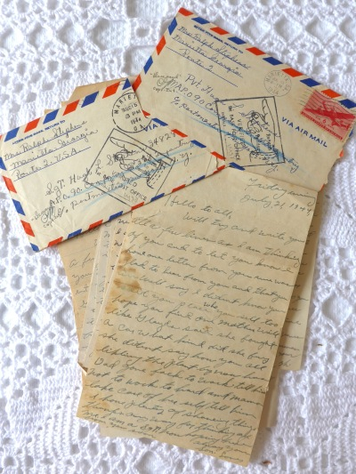 July 21, 1944 - Last letter home of Hugh Lee Stephens